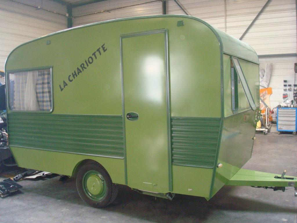 Caravane après réfection